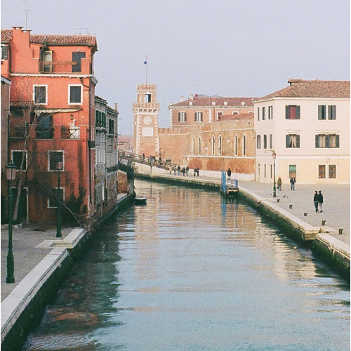 Approaching the Arsenal Venice