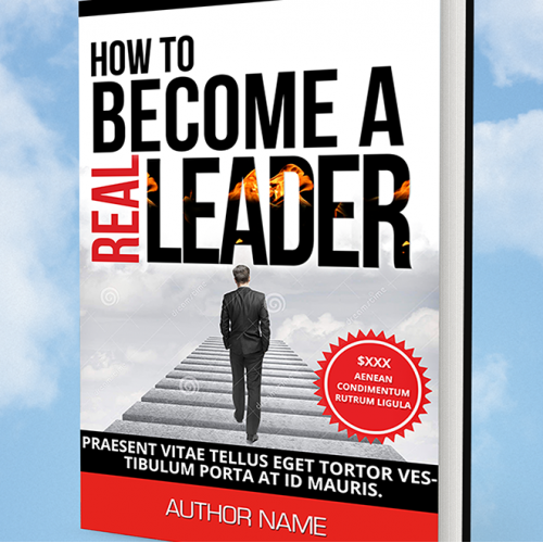 Book cover: How to become a leader