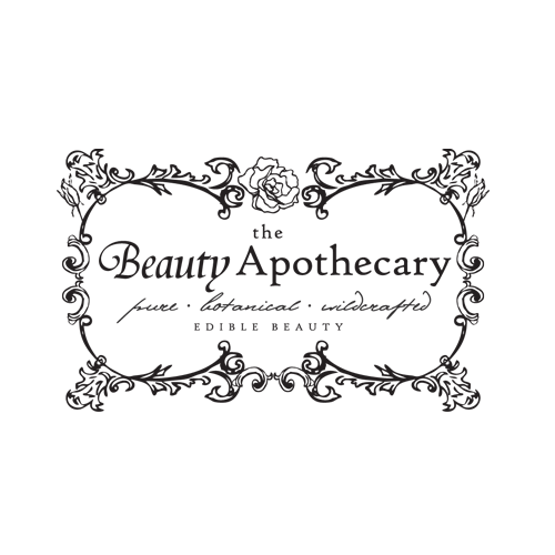 Floral Apothecary Illustrated Logo Design