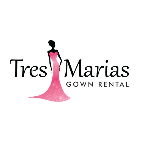 Gown Rental Logo Design