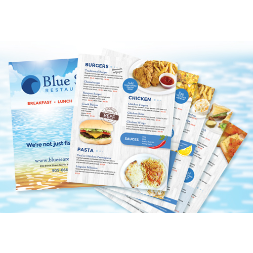 Fish and Chips Restaurant Menu