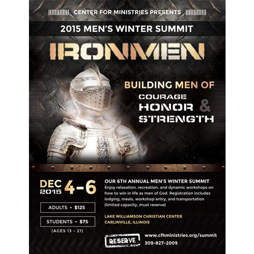 Men's Event Flyer Design
