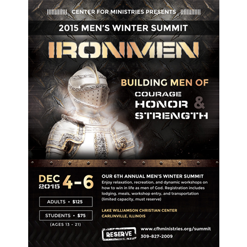 Men's Event Flyer Design
