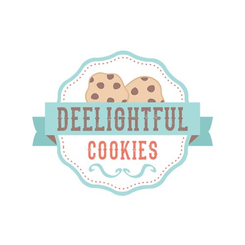 Chocolate Chip Cookies Bakery Logo Design