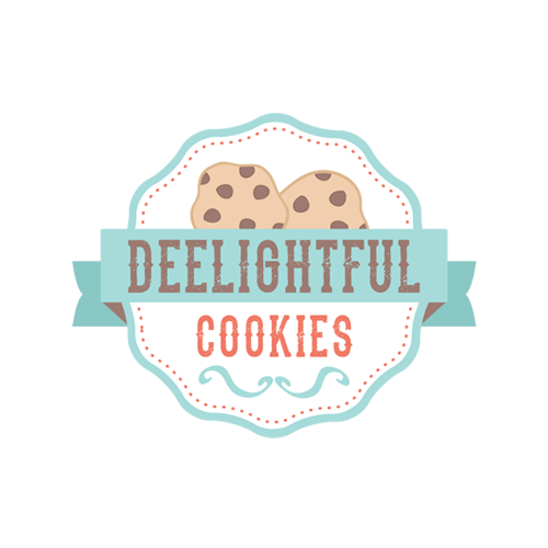 Chocolate Chip Cookies Bakery Logo Design