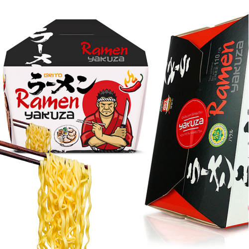 Packaging Design for ramen