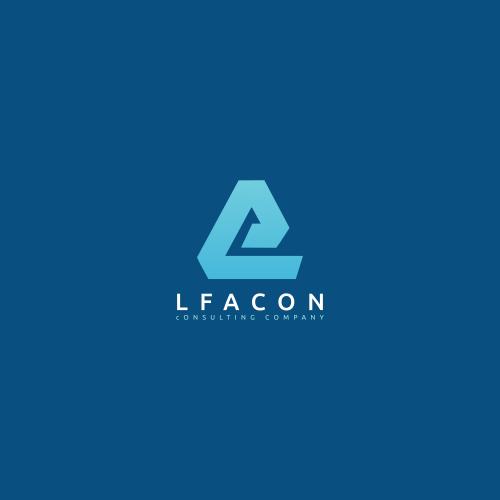 Shape Logo, A Letter shape logo, L letter logo design
