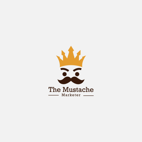 Mustache Logo, Saloon logo design by sahinur rahman
