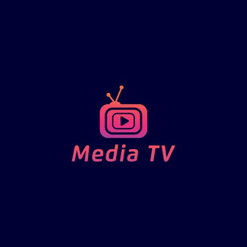 Media Logo, Televison logo, News chennal logo design