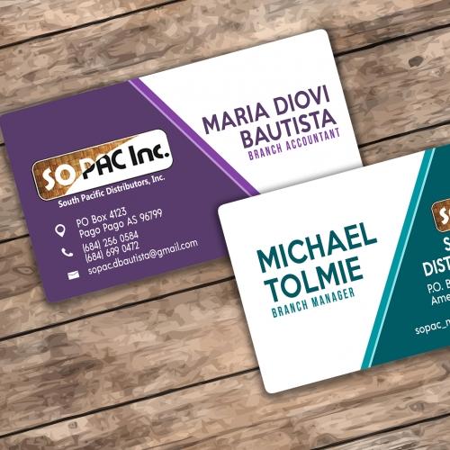 SOPAC Business Card