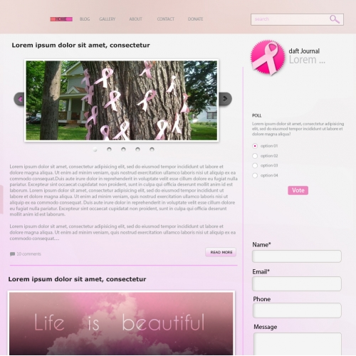 Idea for Breast Cancer Campaign