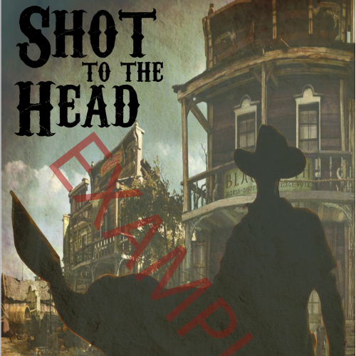 Western book cover
