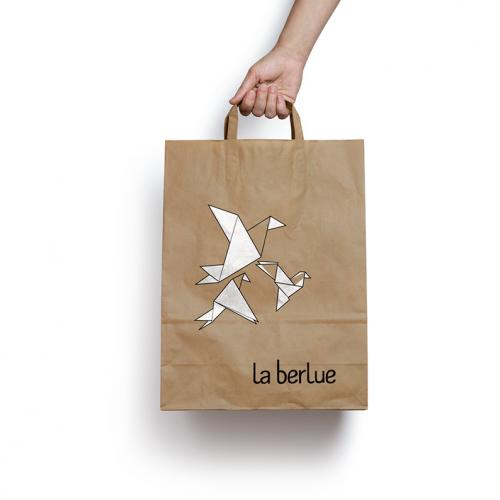 paperbag paperbirds 'la berlue'