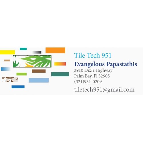 tile tech business card