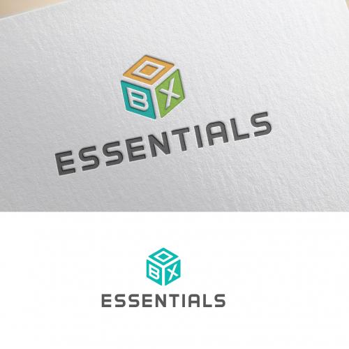 Box Essentials logo design.
