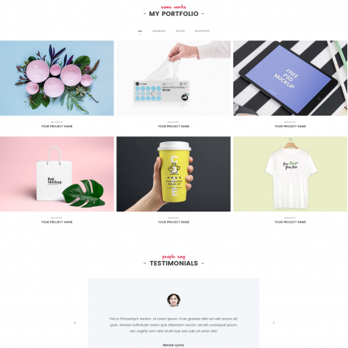 Part 2 Of Home Page For Multipurpose Theme
