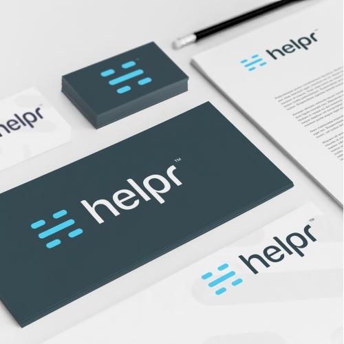 Helpr Logo Design