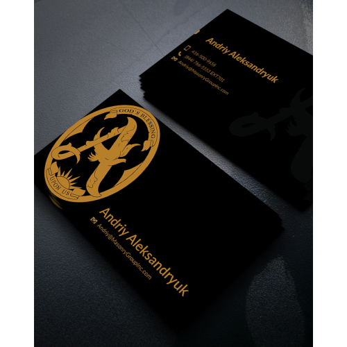 Business card design new
