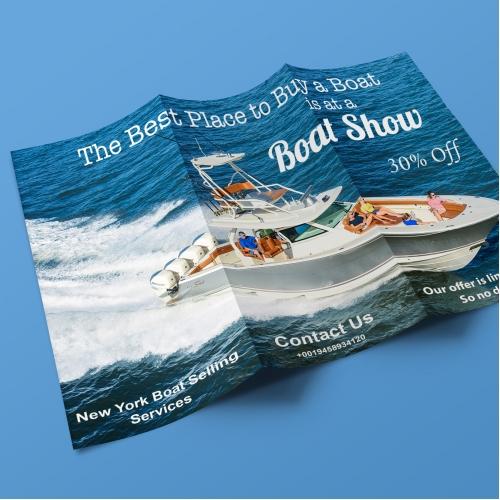 Tri-Fold Brochuer Design