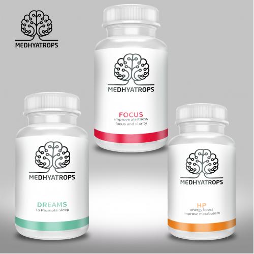 Health Supplement Label Design