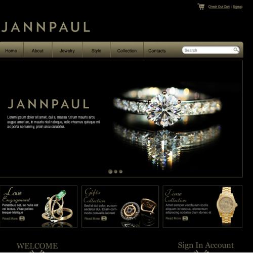 Jewerly Web Design