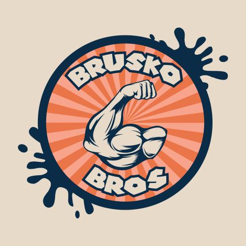 Brusko Bros Logo design