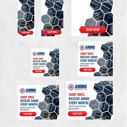 AMMO SUBSCRIPTION Banner ads