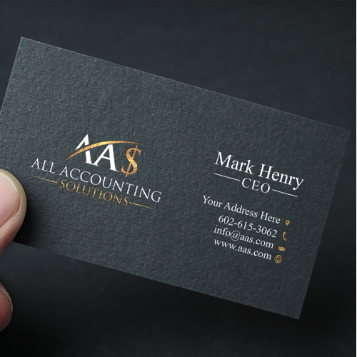 All Accounting Solutions Business Card