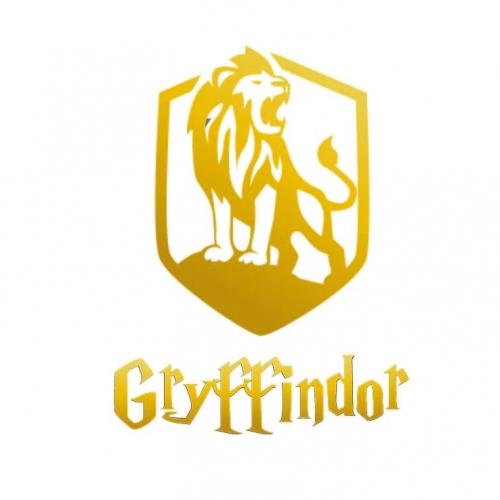 Hogwarts Gryffindor - Tshirt Design