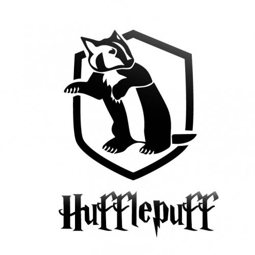 Hogwarts Hufflepuff - Icon Tshirt Design