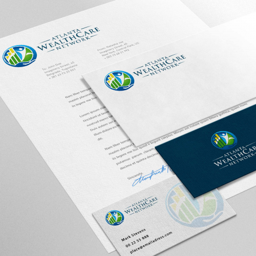 Atlanta Wealthcare Network Brand Identity