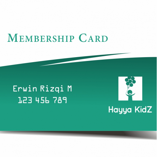 Membership Card Design