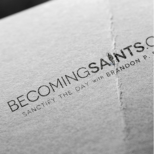 Becoming Saints Logo