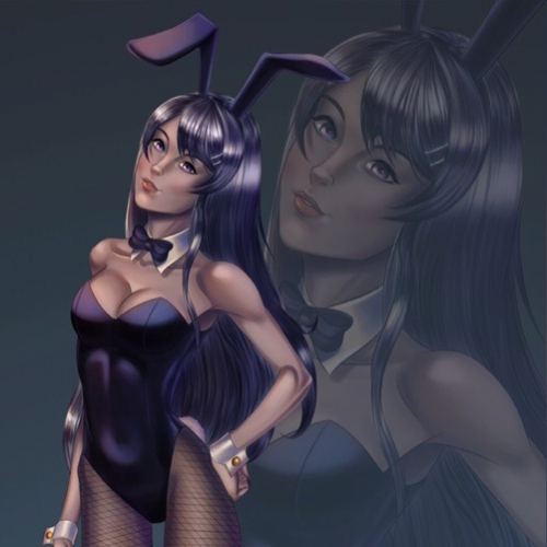 Mai Sakurajima Rabbit Girl (^^)