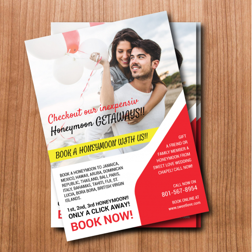 advertizing flyer/poster