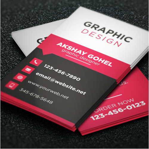 FLAT DESIGN CARD