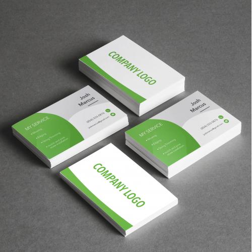 i\'ll design business card.