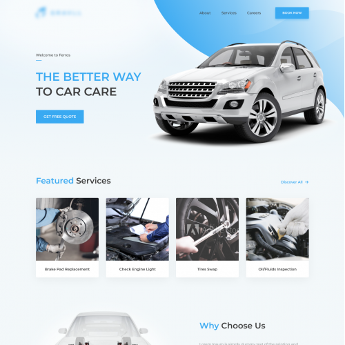 Ferros - the better way to car care!