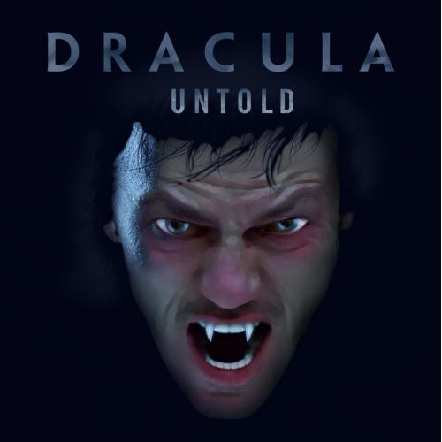 Dracula Untold movie poster illustration