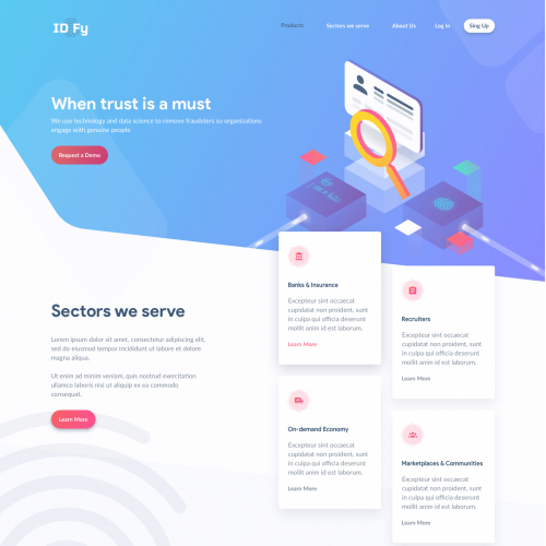 IDfy - the best way to manage your identity online