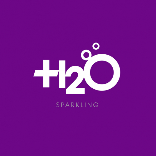 H2O Active Water Logo and Package Graphics