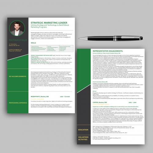 Custom CV Design