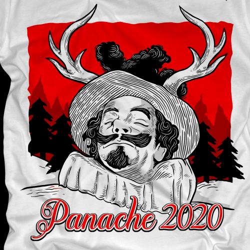 Panache 2020 T-Shirt Design