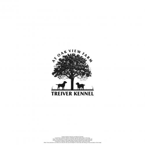 Treiver Kennel at Oak View Farm Logo Design