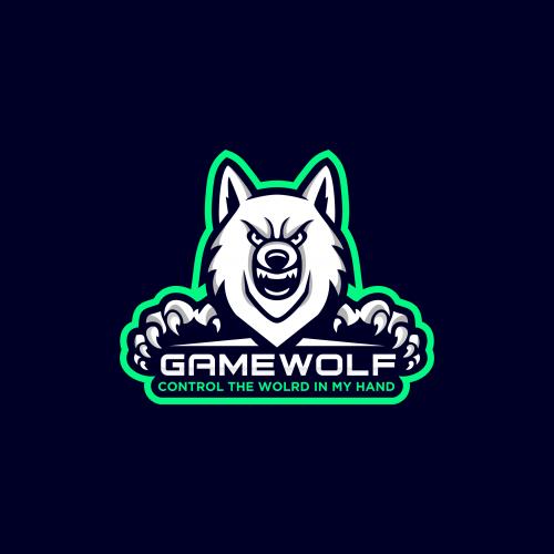 Gamewolf E-Sports Logo Design