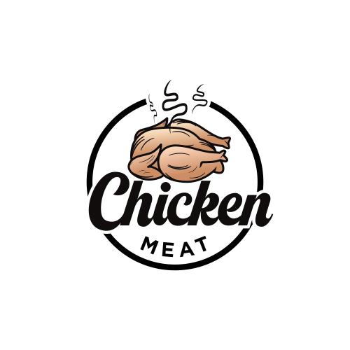 chicken meat logo