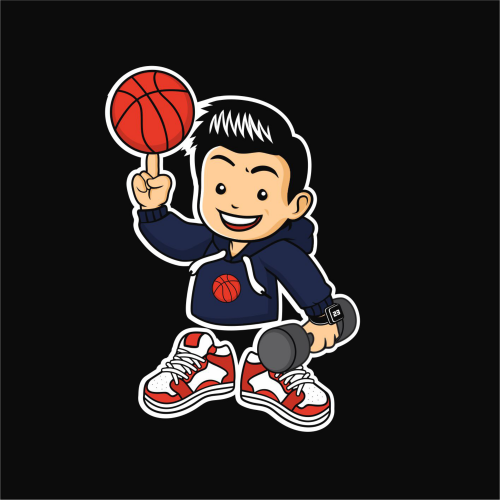 basketball boys mascot