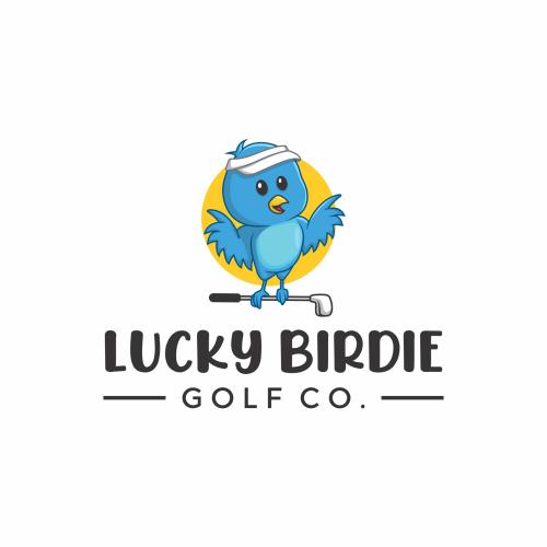 bird cute logo