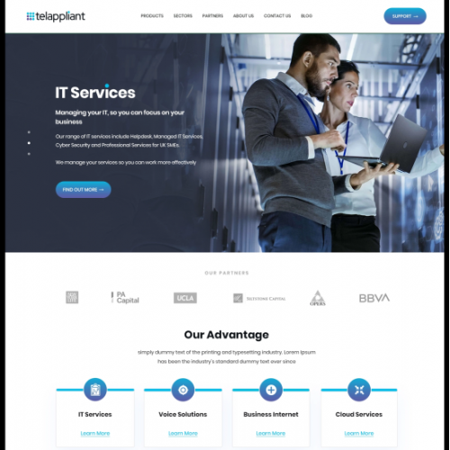 Lead generation page to connect to our email templates