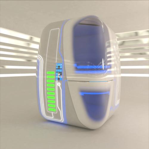 New unique futuristic 3D design